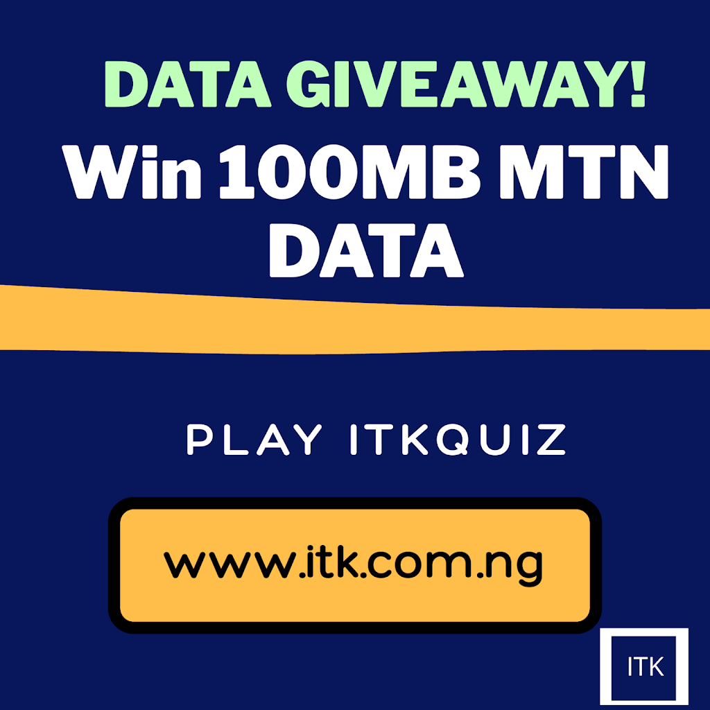 Free Browsing Code For MTN: Play itkquiz and Win 1GB, 100MB for Free post thumbnail image