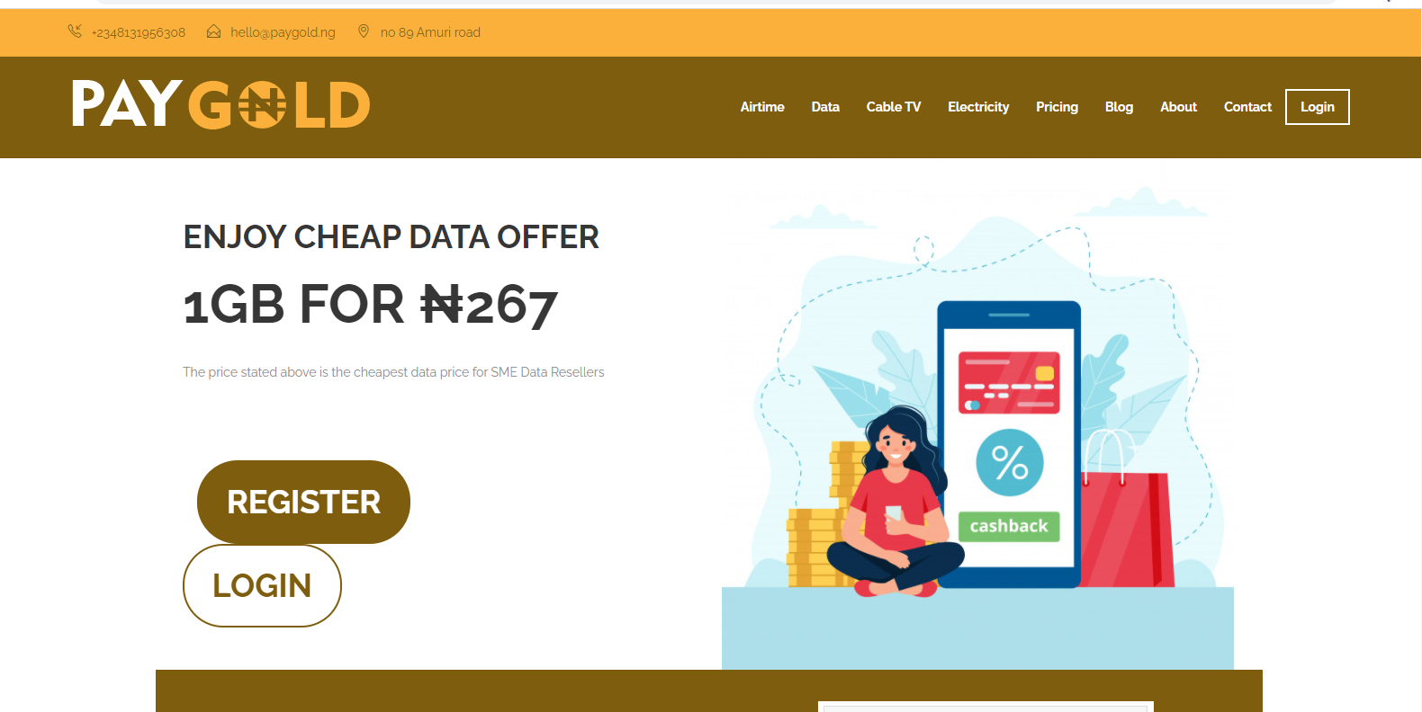 paygold website